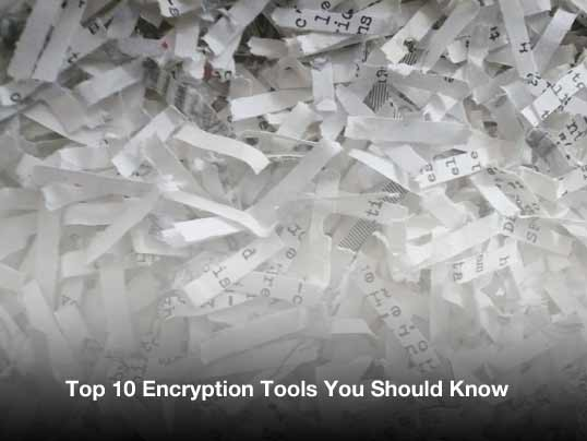 1 - Top 10 Encryption Tools You Should Know
