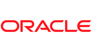 The logo for Oracle.