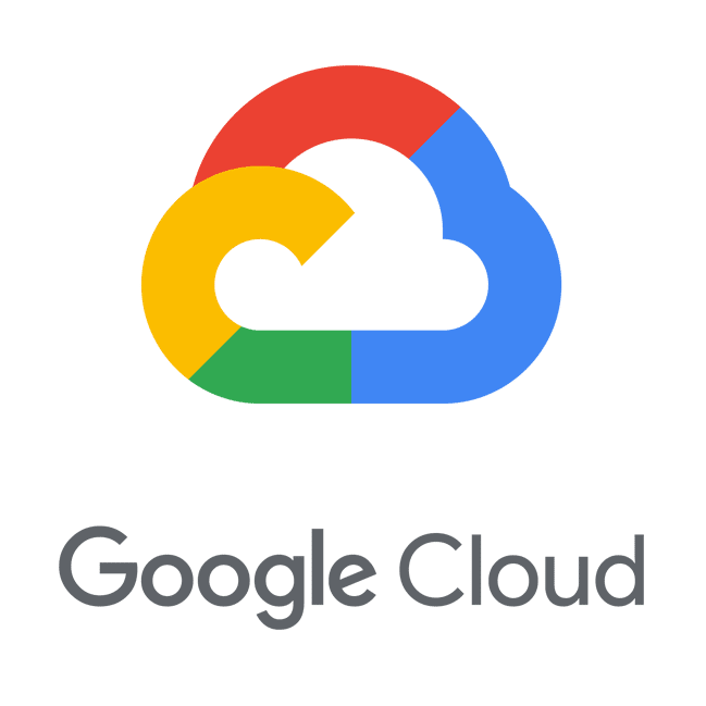 The logo for Google Cloud.