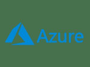 The logo for Microsoft Azure.