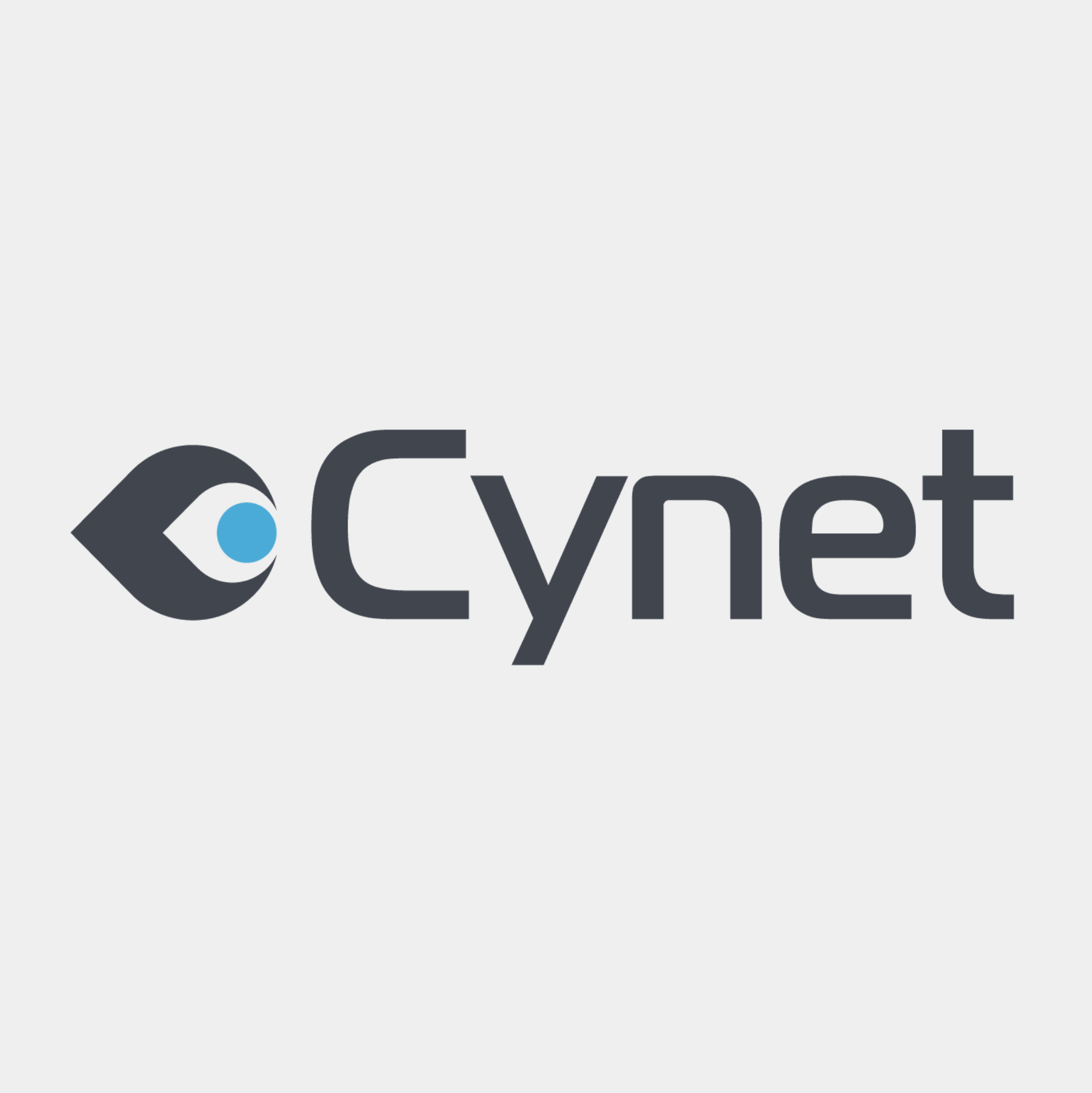 The logo for Cynet to introduce the topic ahead reviewing the Cynet 360 XDR solution.