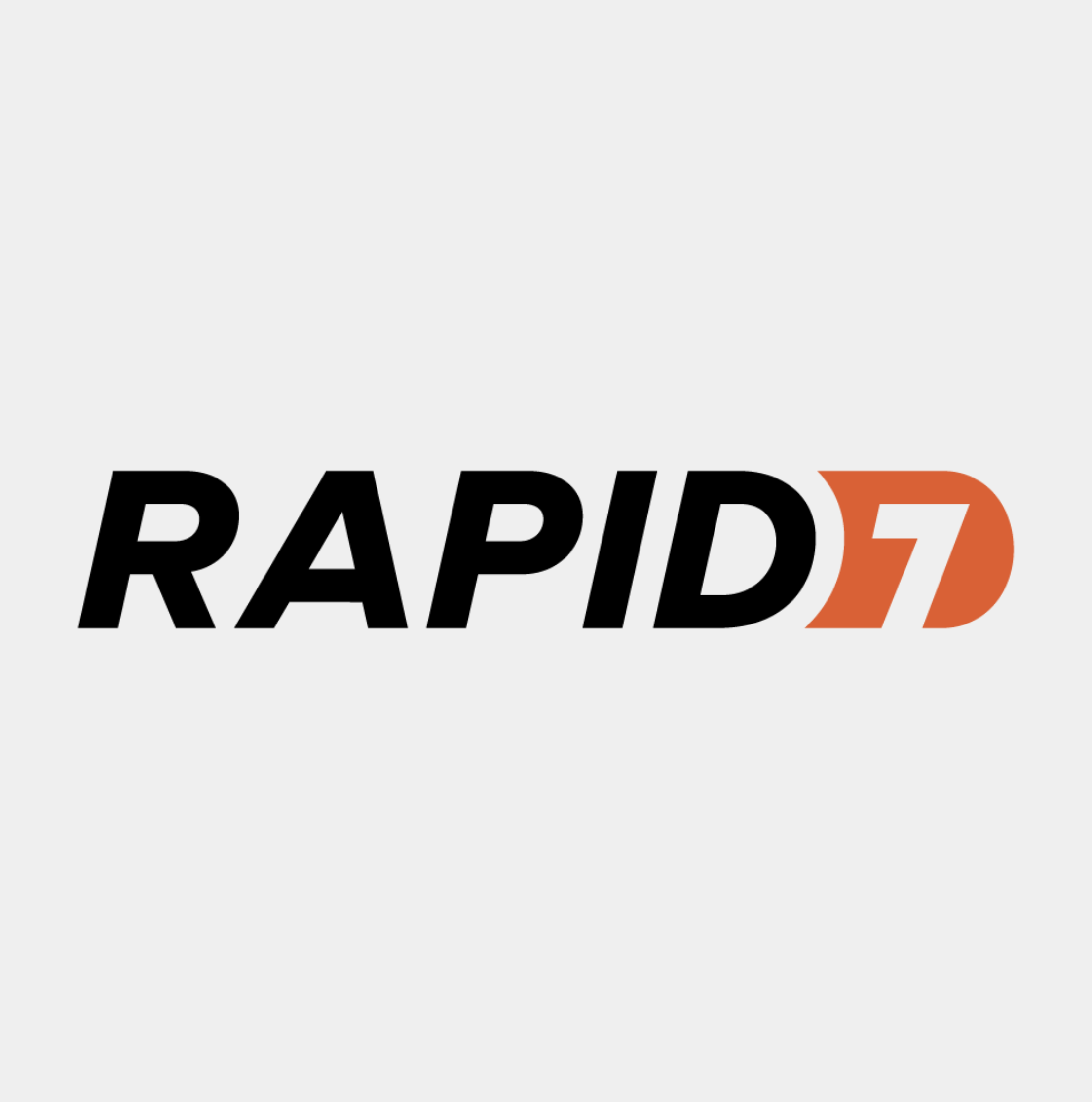 The logo for Rapid7.